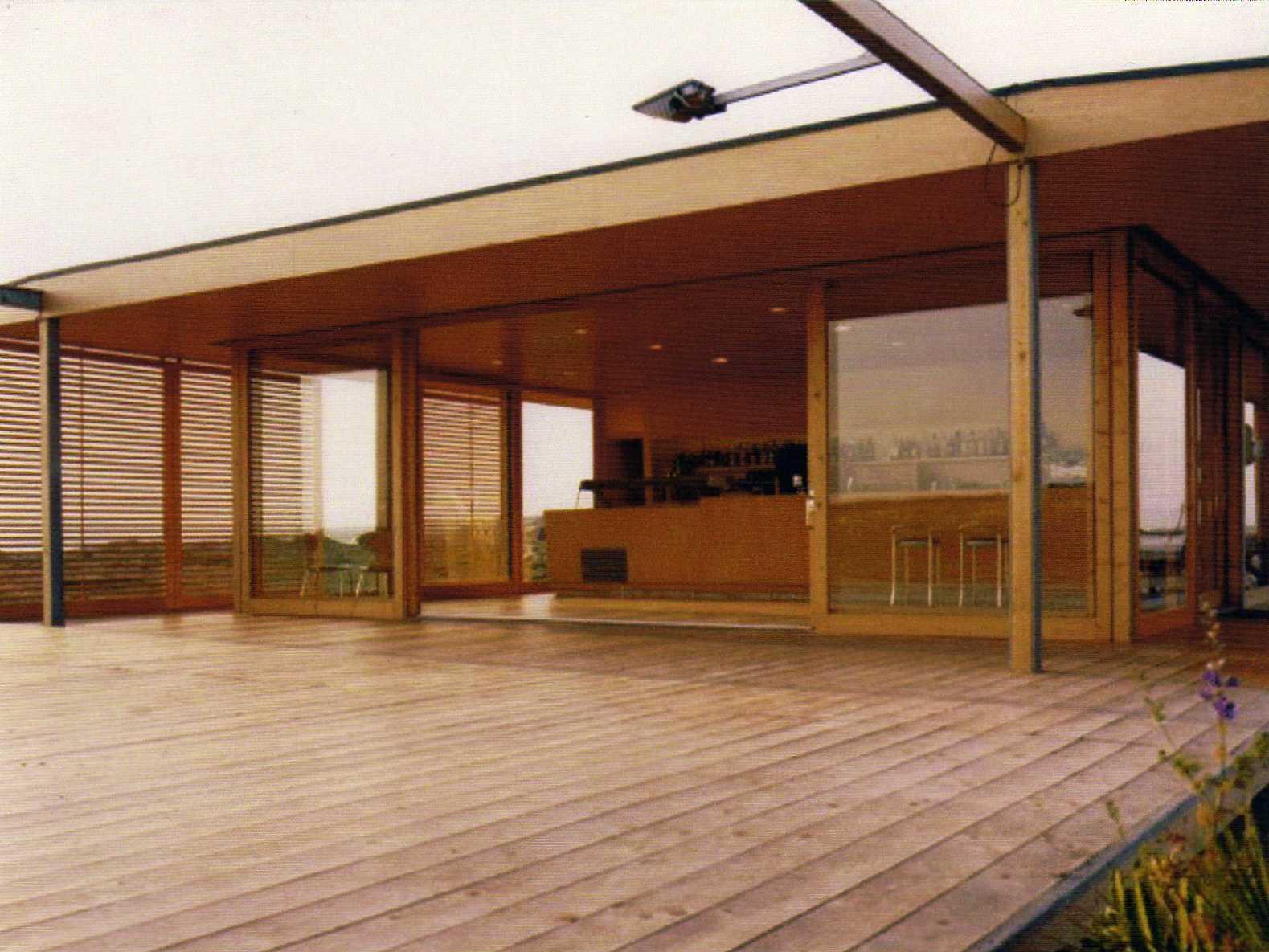 Veranda esterna chiosco