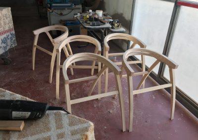 Incollaggio sedie